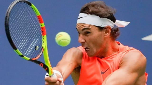 Il giugader da tennis Rafael Nadal.