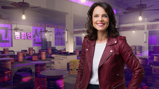 Mona Vetsch moderiert vom 9. bis 24. Februar «Chaempieon», den Late-Night-Talk zu den Olympischen Winterspielen 2018.