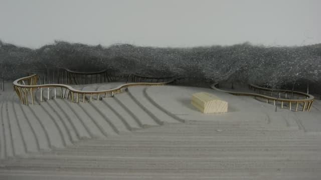 Modell zum Baumwipfelpfad