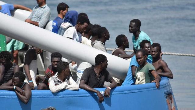 Sie haben nichts zu verlieren – jene die über das Mittelmeer kommen.