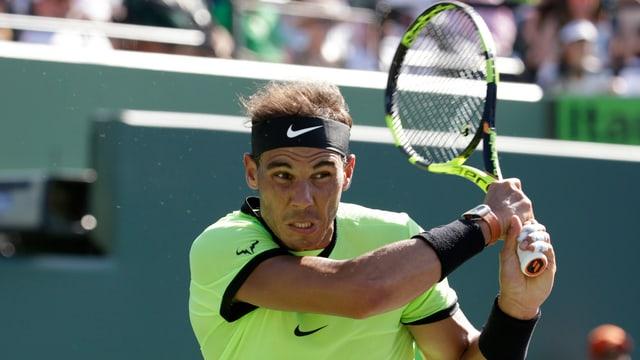 Rafael Nadal auf dem Court