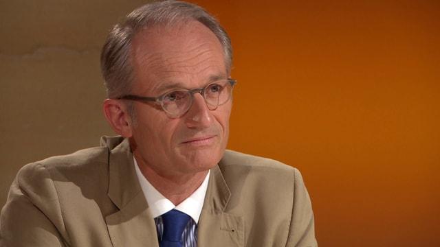 Video «Roger Schawinski im Gespräch mit Lukas Hässig» abspielen