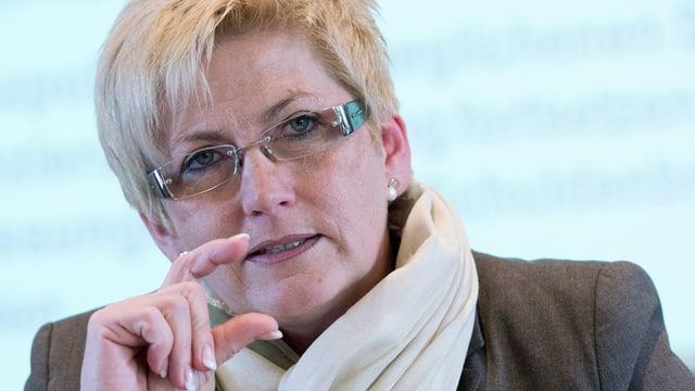 Die bernische Finanzdirektorin Beatrice Simon.
