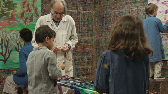 Arno Stern – Die Welt der malenden Kinder
