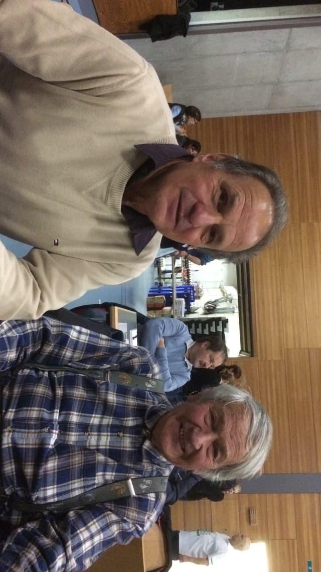 Dario De Tann e Rudi Cadisch.