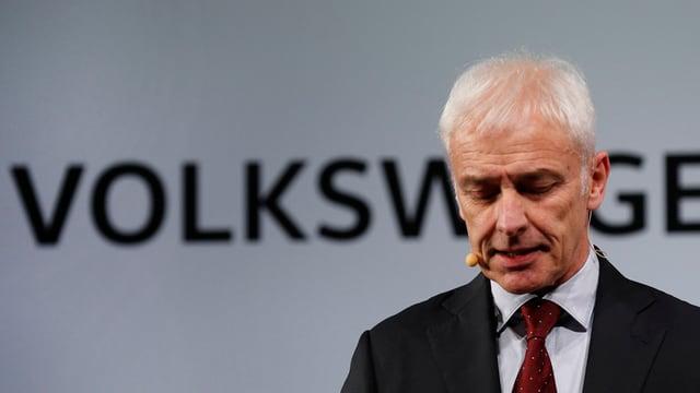 Il schef da Volkswagen, Matthias Müller.