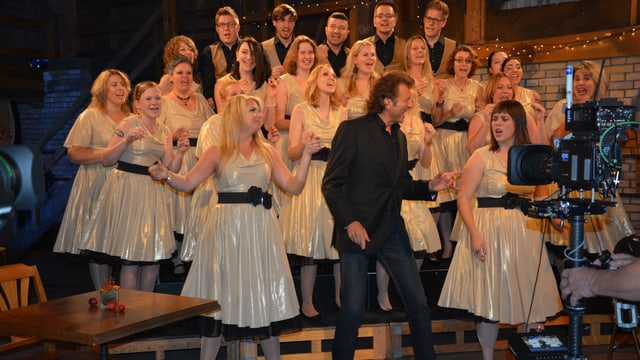 Bo Katzmann mit Chor