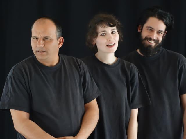 Baghdadi Aoun, Tunis, Meret Bodamer, Zürich und Mehran Mahdavi, Zürich