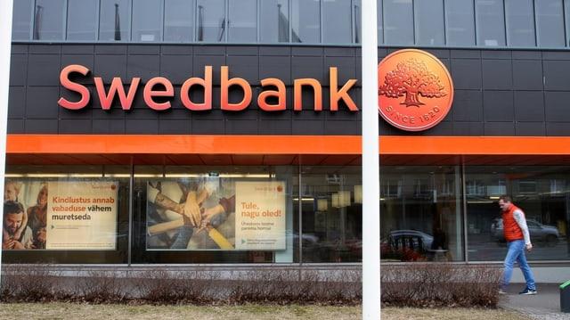 Eine Swedbank-Filiale im estnischen Talinn.