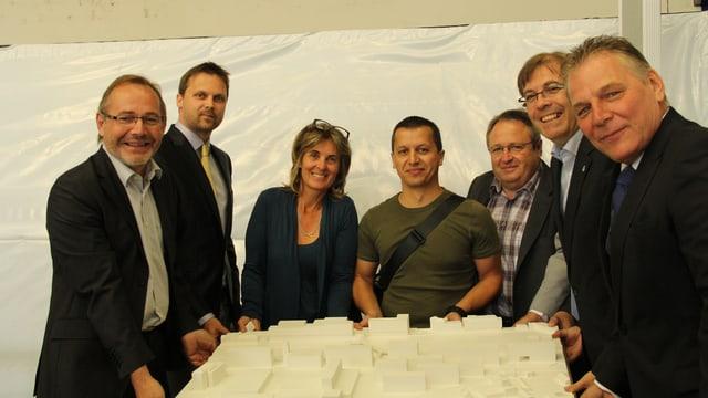 Campus Sitten: das Bildungsprojekt für den Kanton Wallis wurde heute detaillierter vorgestellt.