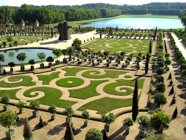 Schlosspark von Versailles.