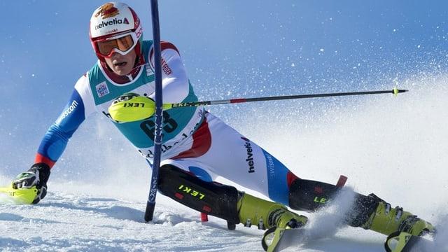 Il Svizzer Daniel Yule vi dal ir cun skis.