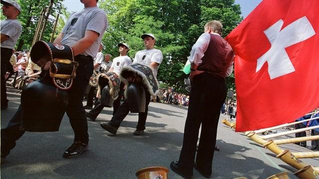1. August-Feier 2001 in Zürich