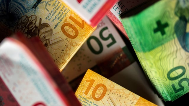 Franken-Geldscheine
