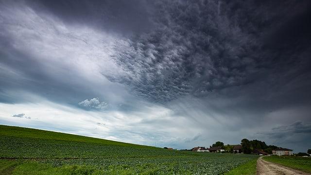 Der Himmel über Fehraltdorf wirkte am 22. Juni unfreundlich.
