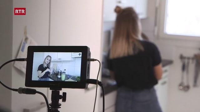 Laschar ir video «Chochdoch cun Eva Natalina Gaudenz»