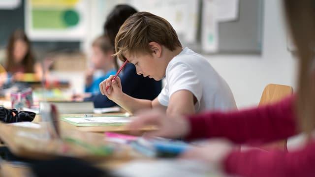 Französisch-Unterricht an einer Zürcher Schule