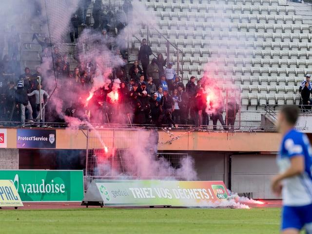 «Fans» von Lausanne.