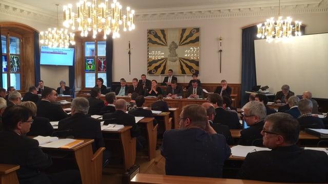 Der Urner Landratssaal.