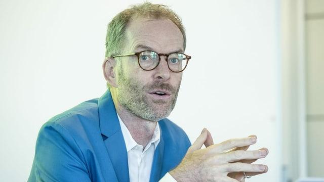 Daniel Leupi, Finanzdirektor der Stadt Zürich.