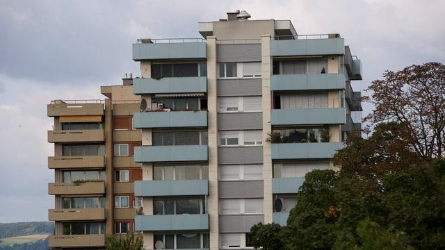Bild eines Wohnblocks