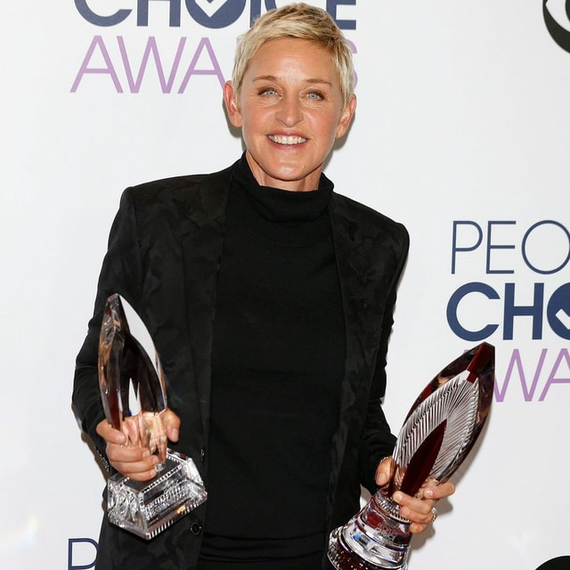 Ellen DeGeneres bringt andere Menschen zum Lachen und ist eine geschätzte Person der Öffentlichkeit