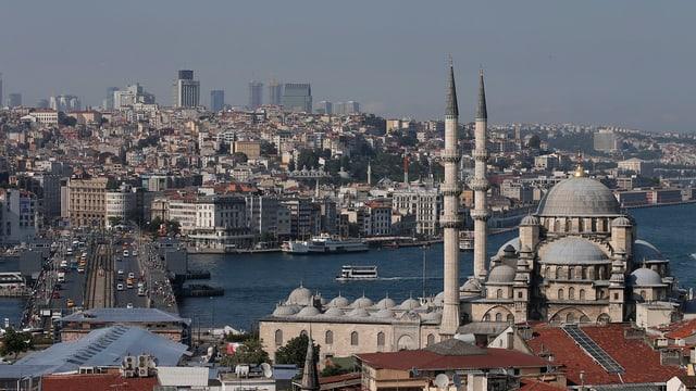 Blick auf die Istanbuler Altstadt.