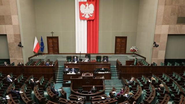 Blick in den polnischen Parlamentssaal
