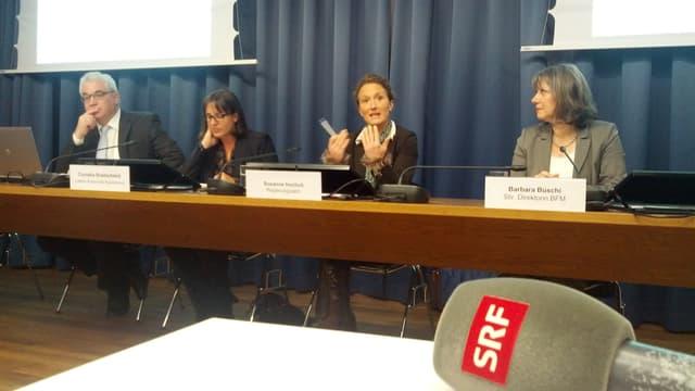 Medienkonferenz mit Kantonsbehörden des Aargau
