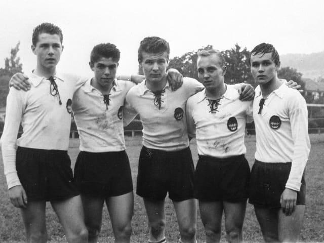 Franz Beckenbauer um 1960 herum.
