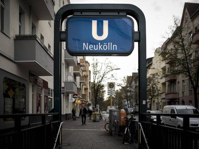 U-Bahn-Station in Berlin-Neukölln