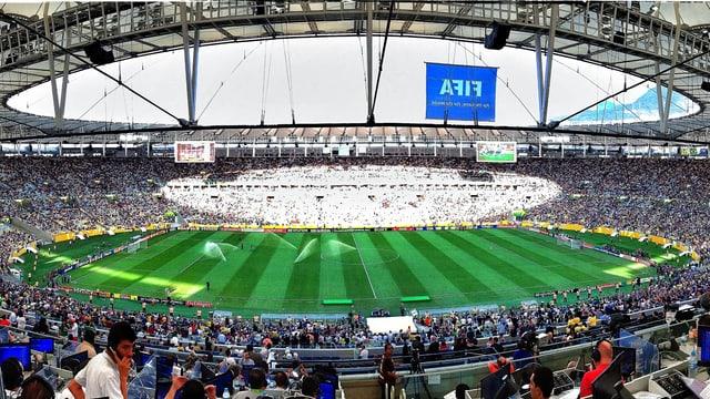 Das Maracana-Stadion in Rio de Janeiro.