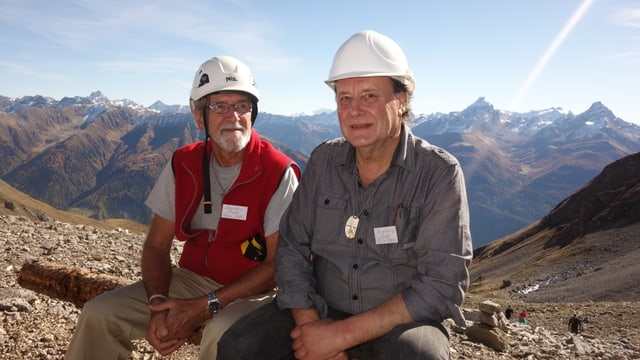 A Peter Kuhn (sanester) e Richi Item èsi d'engraziar, che la miniera è puspè accessibla.