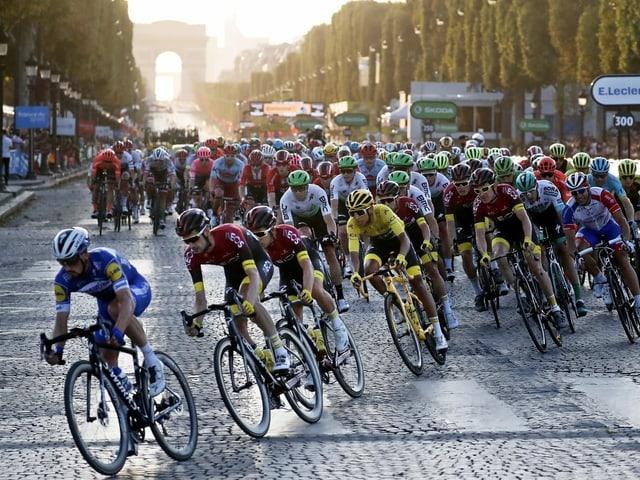 Die Tour de France.