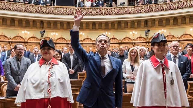 Ignazio Cassis è cusseglier federal