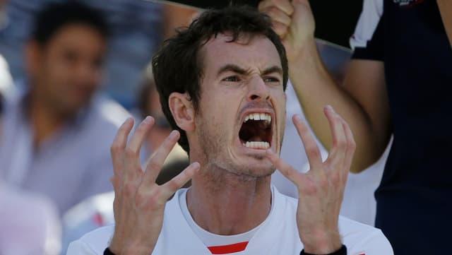 Andy Murray fand gegen Stanislas Wawrinka kein Rezept.