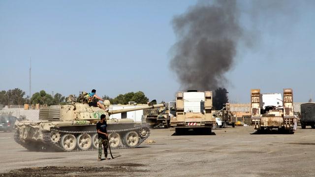 Panzer in Libyen