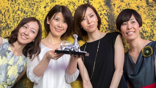 Vier Schauspielerinnen aus dem Film «Happy Hour»