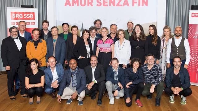 Il team dal film «Amur senza fin».