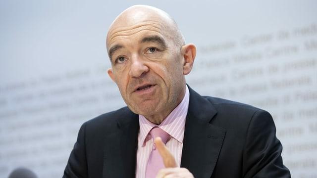Zürcher SP-Ständerat Daniel Jositsch kritisiert Mario Fehr