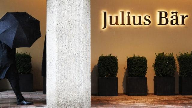 Sitz der Bank Julius Bär in Zürich.