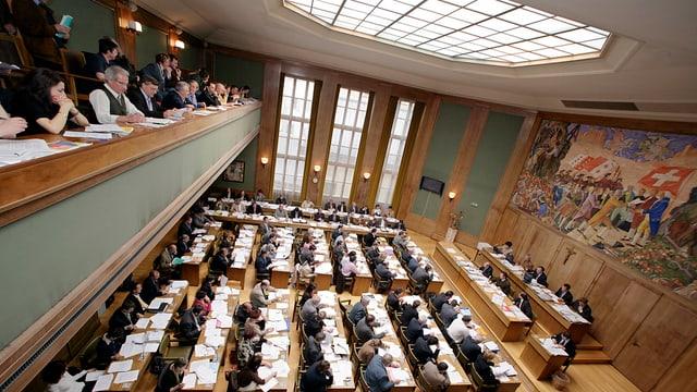 Grossratssaal in Sitten.