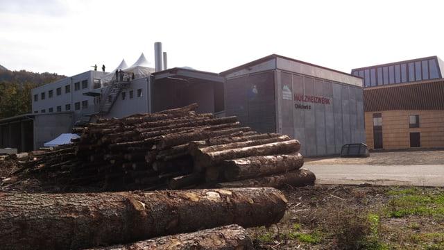Holzheizwerk der Korporation Alpnach
