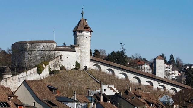 Der Munot von Schaffhausen