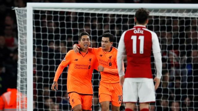 Roberto Firmino erzielte gegen Arsenal das 3:3.