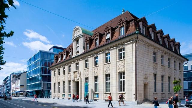 Hauptsitz der NAB in Aarau.