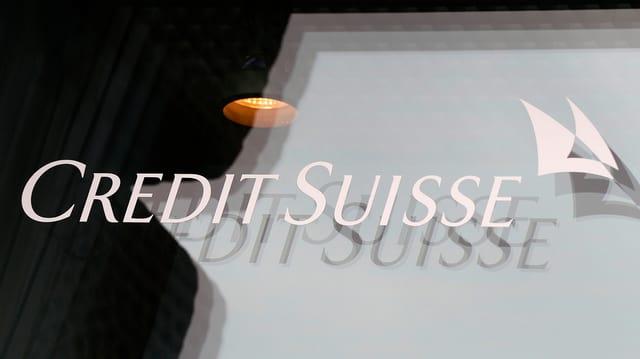 Logo da la banca gronda Credit Suisse.