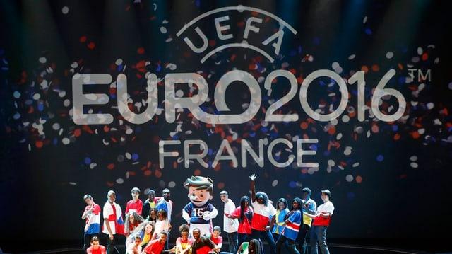 Il logo da l'Euro 2016 France.