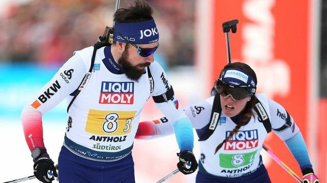 Benjamin Weger, Lena Häcki