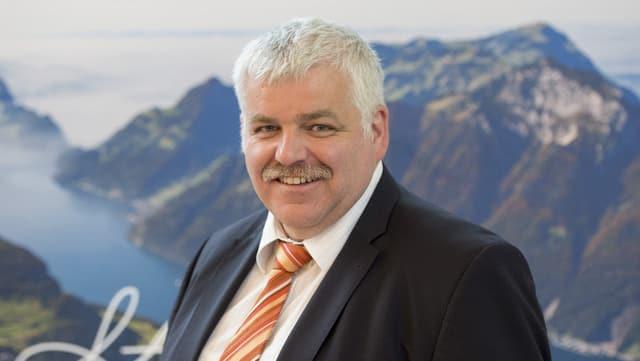 Othmar Reichmuth CVP-Regierungsrat vom Kt. Schwyz.